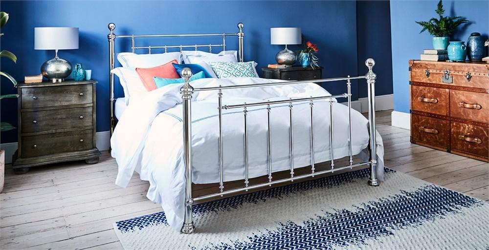 Henley Bed Nickel